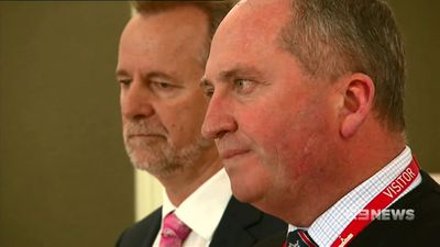 Barnaby Joyce denies sexual harassment complaint received by National Party