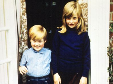 Princess Diana and Earl Spencer as children.