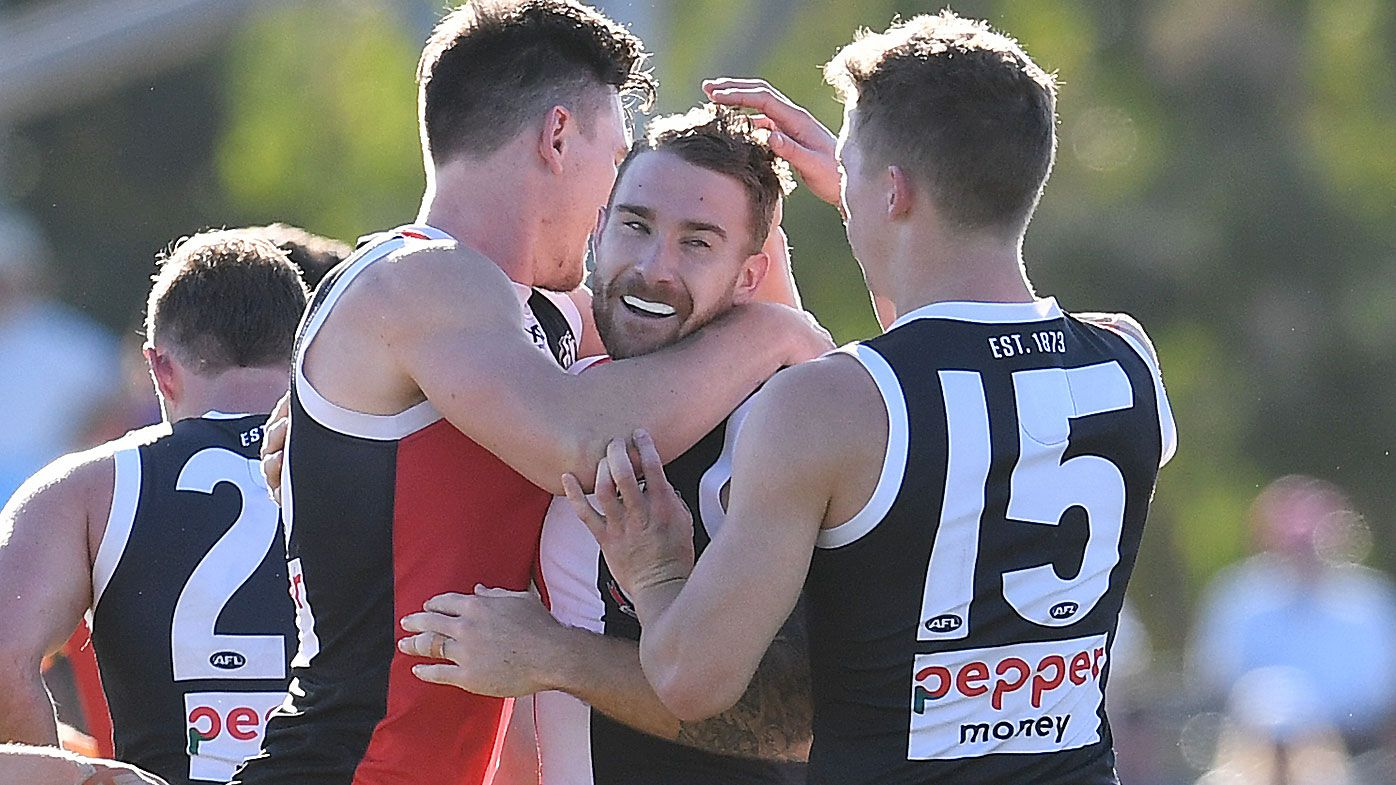 Jack Billings stars as St Kilda launches furious comeback against slumping Suns