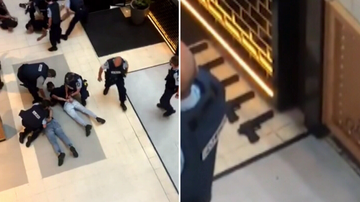 A 'Social Media stunt' is believed to be the cause of yesterday's Chatswood Westfield scare that saw five teens arrested.