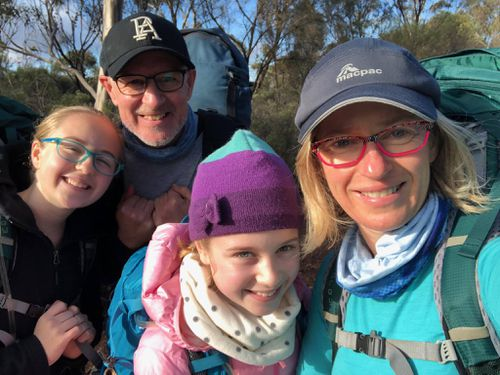 Mr Weatherill was bushwalking with his family at the time. (Facebook)