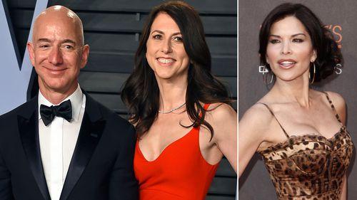 Jeff Bezos, Mackenzie Bezos, Lauren Sanchez