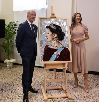 Princess Mary makes a splash at Milan design week
