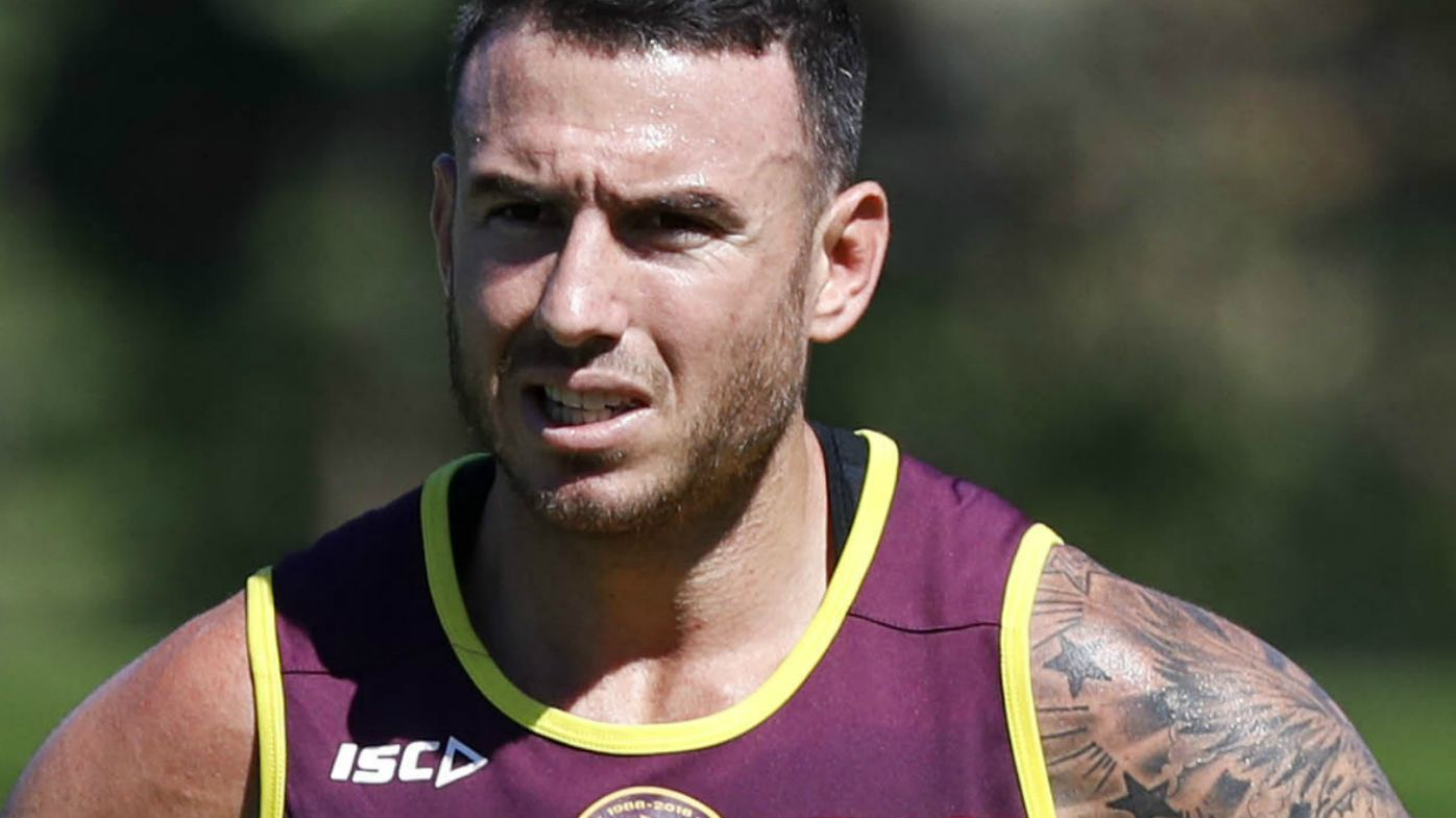 Darius Boyd training