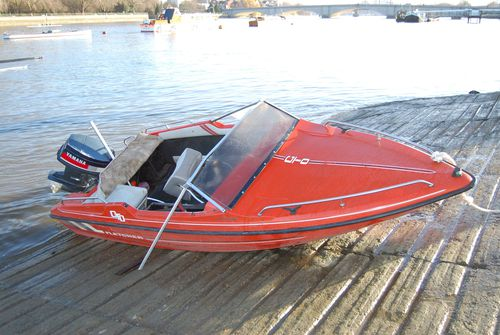 As they took a trip along the River Thames in his speedboat, it flipped and she was killed.