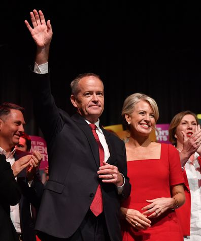 Bill Shorten and Chloe Shorten
