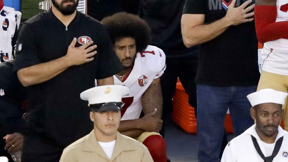 Kaepernick anthem protests gain support