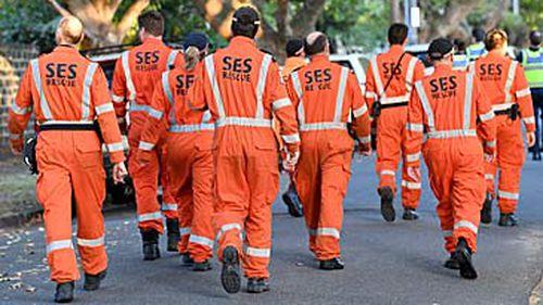SES volunteers (AAP)