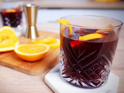Perfect mulled wine for winter for winter sipping