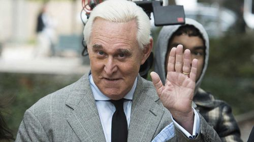 Roger Stone is known as a colourful and fierce Republican operative, famed for a large Richard Nixon tattoo on his back.