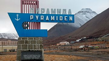 Inside an Arctic Circle ghost town