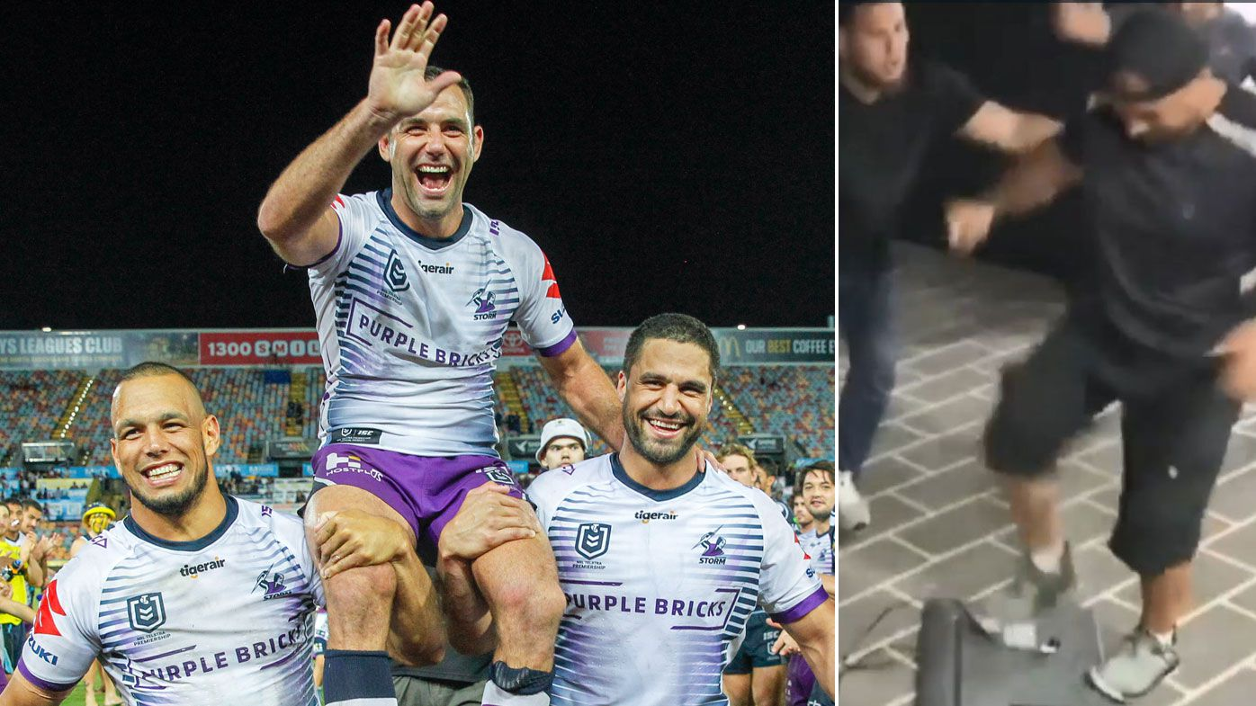 Hazem El Masri's hilarious tribute video after Cameron Smith breaks NRL points record