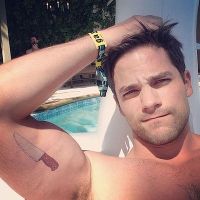 Brant Daugherty as Luke Sawyer