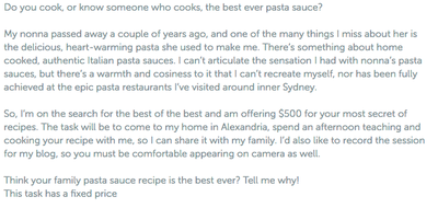 Teach me your family pasta sauce recipe