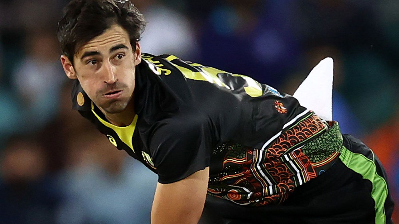 Mitchell Starc out of remainder of Australia-India T20 series for family reasons