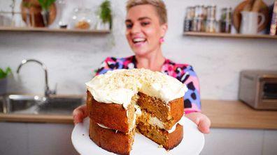 Jane de Graaff's flourless carrot cake extravaganza