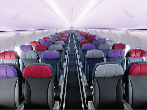 Virgin Australia economy class