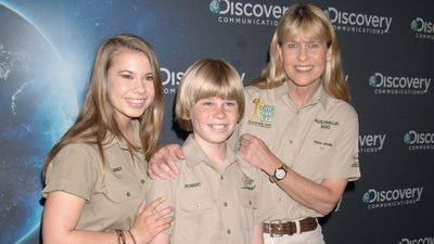 Terri Irwin, mother of Bindi and Robert