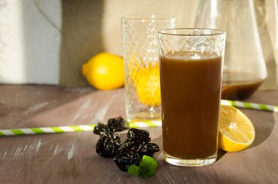Prune juice