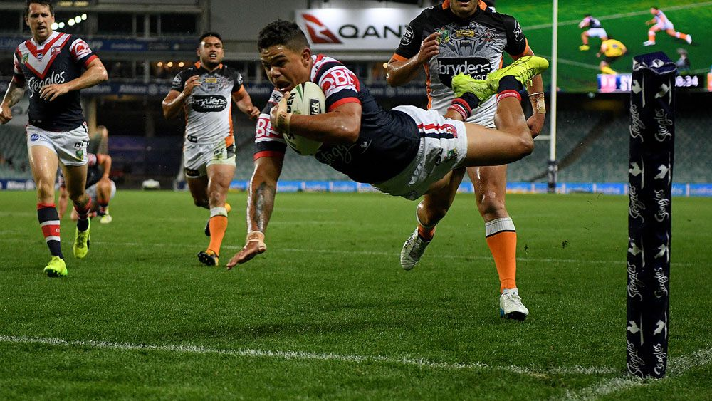 NRL: Wests Tigers star James Tedesco shows Sydney Roosters what they're getting next year