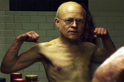 Thanks to an awesome make-up team and some CGI magic, Brad transformed into the frail, reverse-ageing Benjamin Button for 2008's The Curious Case of Benjamin Button.