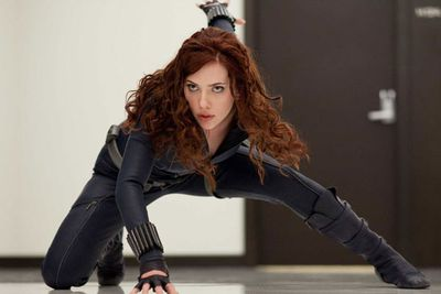 Rated on hotness alone, Black Widow would be a perfect 10. But this undercover agent is a bad-ass <i>par excellence</i>, as we saw in the recent <i>Avengers</i> movie. Check out one of her best scenes on the next slide!