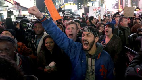 Third day of protests in US over police killings of black men