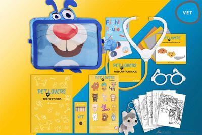 Children's Amenity Kit, CIS Countries - Kaelis for Air Astana