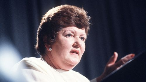 Former Victorian Premier Joan Kirner. (AAP)