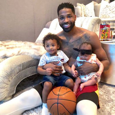 Tristan Thompson, daughter True, son Prince