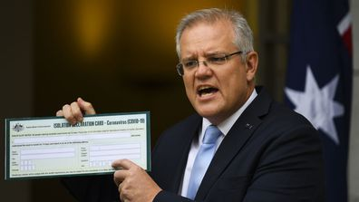 Scott Morrison has placed a mandatory quarantine on all overseas arrivals.