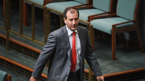 Liberal frontbencher Mal Brough also stepped aside on Tuesday.