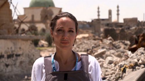 Jolie is a United Nations special envoy. Picture: UNHCR
