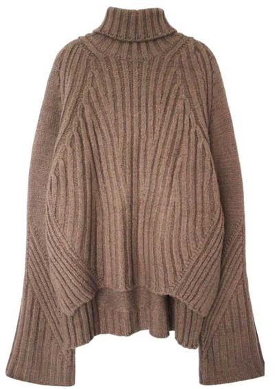 """<a href=""""http://genuine-people.com/products/high-low-oversized-turtleneck-sweater?utm_source=polyvore&amp;utm_medium=cpc&amp;utm_campaign=sweaters&amp;variant=9616276869"""" target=""""_blank"""">Genuine People sweater, $198, at Genuine-People.com</a>"""