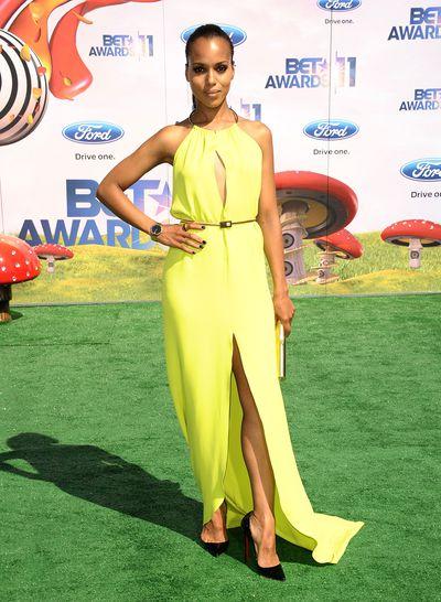 Actress Kerry Washington at the 2011 BET Awards in Los Angeles, June, 2015