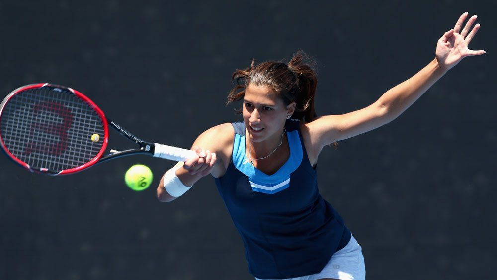 Melbourne teen Jaimee Fourlis will play in the Australian Open. (Getty Images)
