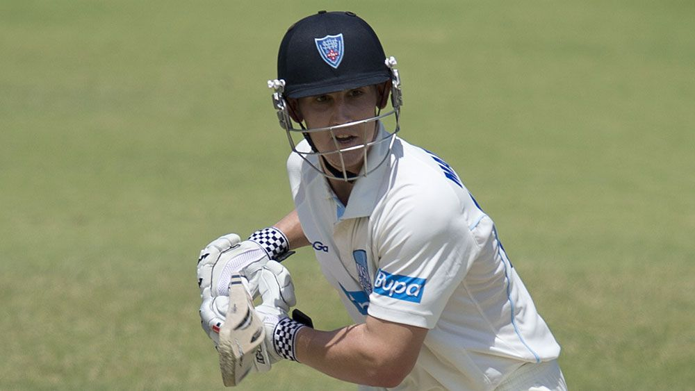 Nic Maddinson and NSW enventually got the job done against Western Australia. (AAP)