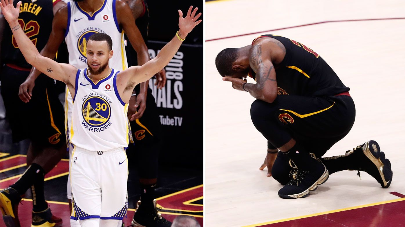 Warriors sweep Cavs for third NBA title