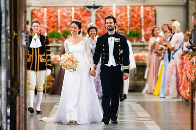 Prince Carl Philip of Sweden and Sofia Hellqvist, June 13 2015
