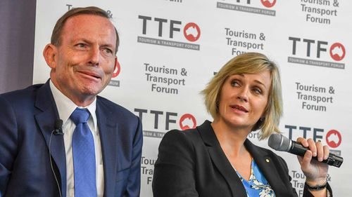 Tony Abbott is facing a stiff challenge from Zali Steggall in the seat of Warringah.