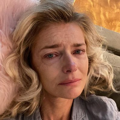 Supermodel Paulina Porizkova posts 'crying selfie' as she shares feelings about trust and betrayal