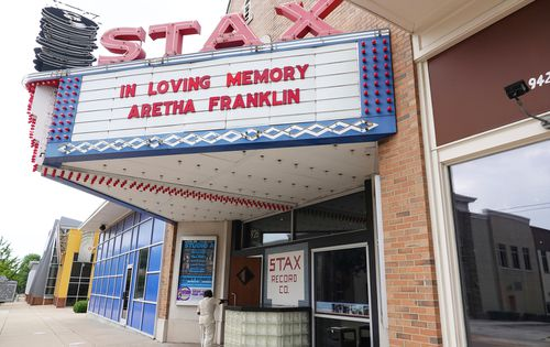 Stax Museum remembers Aretha Franklin. Stax is just a short distance away from the home where Aretha Louise Franklin was born.