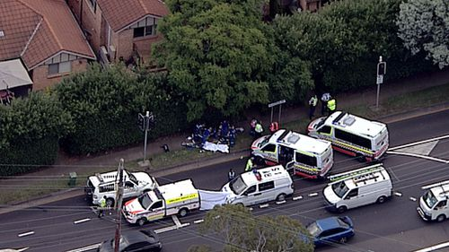 Emergency services were called to the scene just before 3.30pm. (9NEWS)