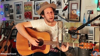 Ben Lee performs We're All In This Together Music From The Home Front