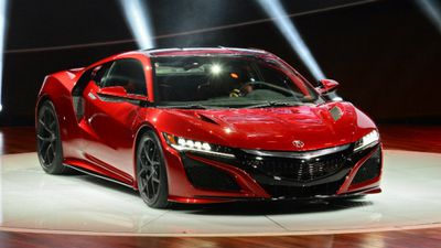 The new Acura NSX. (AAP)