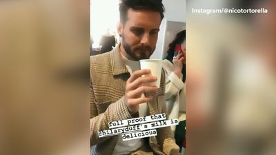 Hilary Duff's 'Younger' co-star Nico Tortorella drinks her breast milk and thinks it's 'delicious'