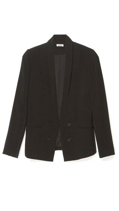 <p>The boxy blazer</p>