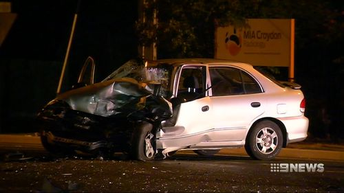 Ms Patten was taken to hospital in a serious condition following the crash. (9NEWS)