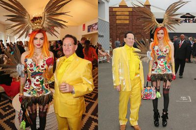 Geoffrey Edelsten got down on bended knee and proposed to Gabi Grecko. Gee, you wouldn't think these two were the old-fashioned type...<br/><br/>Image: Getty