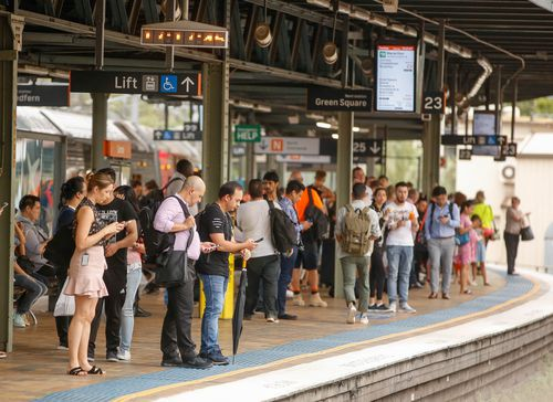 """NSW Transport Minister Andrew Constance has apologised to commuters and admits the train network has been a """"mess"""". (AAP)"""